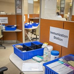 Over 10,000 COVID vaccines administered through Hamilton Health Sciences