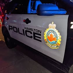 Police investigating reports of a 'buried baby' in downtown Hamilton