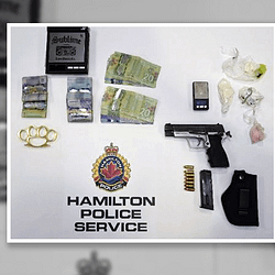 Police make arrests, seize gun and drugs from 'after-hours' bar in Hamilton