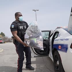 Peel cops donate to Brampton organizations that work with at-risk residents