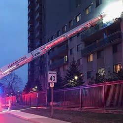 Crews responding to multiple-alarm fire in Hamilton