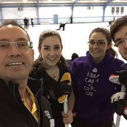Oakville family set to sweep up for Portugal at world mixed curling championships