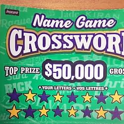 Brampton woman plays the name game and hits the jackpot