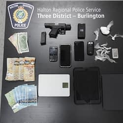 Drug investigation in Burlington leads to arrest and gun seizure