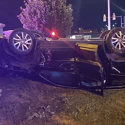 Driver charged following rollover crash in Brampton