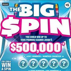 Brampton man takes the big spin for a big win