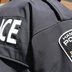 Police officer tests positive for COVID-19 in Hamilton
