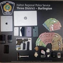 Police investigation leads to firearm and illegal drug seizure in Burlington