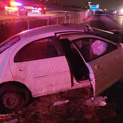 Driver arrested after overnight crash on the QEW in Hamilton