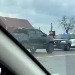 Hamilton man charged with theft, fleeing police, resisting arrest after high-risk pursuit (VIDEO)