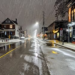 April snow expected Tuesday night in Hamilton